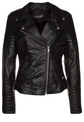 Freaky Nation Passenger Leather Jacket Schwarz Black