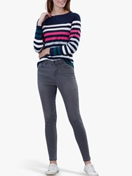 Joules Monroe Skinny Stretch Jeans Mid Grey Wash