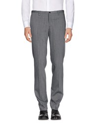 Versace Collection Casual Pants Steel Grey