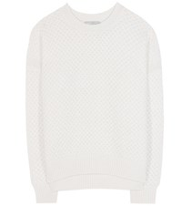 Vince Wool And Yak Sweater White