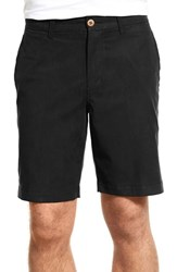Men's Tommy Bahama 'Offshore' Stretch Twill Shorts Black