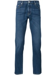 Officine Generale Tapered Jeans Blue