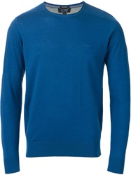 Armani Jeans Crew Neck Sweater Blue