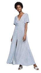 Cleobella Valentina Dress Blue Ditzy