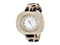 Betsey Johnson Bj00486 02 Leopard Gold Mother Of Pearl Watches Multi
