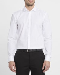 Minimum Photo Error White Thompson Cutaway Collar Stretch Shirt