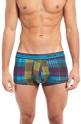 2Xist Men's 2 X Ist Mod Stretch Trunks Purple Reign