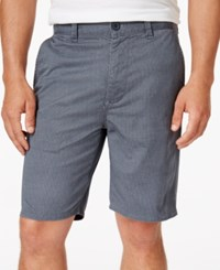 American Rag Men's Cube Classic Fit Geo Print 9 Shorts Created For Macy's Clean Coal Cbo