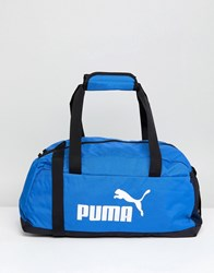 Puma Phase Sport Bag In Blue 07494227