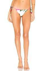 Salinas Marlin Side Tie Bikini Bottom White