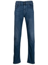 7 For All Mankind Slimmy Tapered Jeans Blue