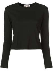 Amo Fitted Knitted Jumper Black