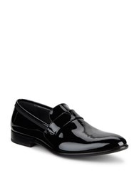 Bruno Magli Carlos Patent Leather Loafers Black Pate