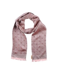 John Galliano Oblong Scarves Pink