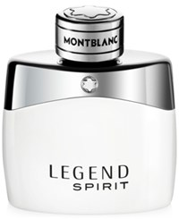 Montblanc Legend Spirit Eau De Toilette 1.7 Oz Only At Macy's No Color