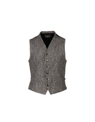 Ann Demeulemeester Vests Grey