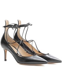 Gianvito Rossi Exclusive To Mytheresa.Com Lexi Mid Leather Pumps Black