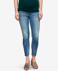 A Pea In The Pod Maternity Medium Wash Skinny Jeans Light Wash