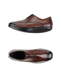 Mbt Lace Up Shoes Cocoa