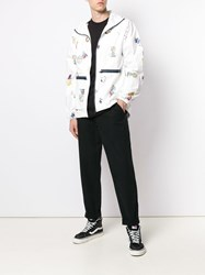 Lc23 Tyvek Printed Jacket White