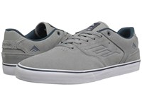 Emerica The Reynolds Low Vulc Grey Blue Men's Skate Shoes Gray
