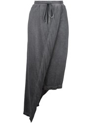 Lost And Found Rooms Drawstring Skirt Grey