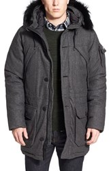 Men's Penfield 'Hoosac' Hooded Down Wool Blend Parka