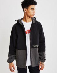 The Hundreds Carson Windbreaker Jacket Black