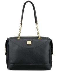 Anne Klein String Me Along Satchel Black