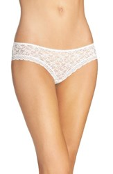 Free People Women's Lace Hipster Briefs Ivory