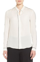 Tahari Women's Yvette Silk Blouse