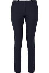 Joseph New Eliston Stretch Gabardine Slim Leg Pants Navy