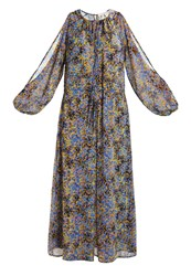 Warehouse Maxi Dress Multicolor Multicoloured