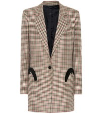 Blaze Milano Everyday Checked Wool Blazer Multicoloured