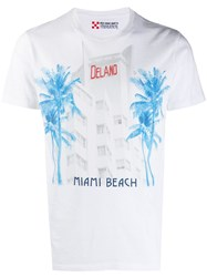 Mc2 Saint Barth Miami Hotel T Shirt White