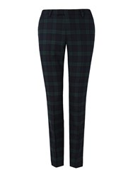 Noose And Monkey Men's Hogarth Suit Trousers Green