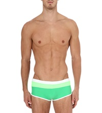 Aussiebum Wave Swim Trunks Green