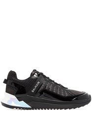 Balmain Trail Patent Leather Sneakers 60