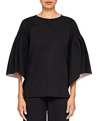 Ted Baker Says Relax Orcher Full Sleeve Sweatshirt Black