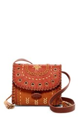 Steve Madden Tulsa Faux Leather Crossbody Red