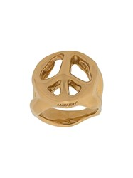 Ambush Peace Ring Gold