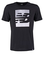 New Balance Print Tshirt Black