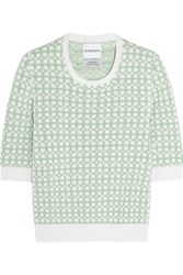 Alexander Lewis Sunnylands Cotton Top Green