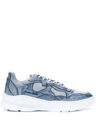 Filling Pieces Low Fade Cosmo Infinity Sneakers Blue