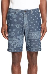 Polo Ralph Lauren Men's Paisley Print Chambray Shorts