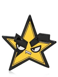 Dsquared Star Patent Leather Pin
