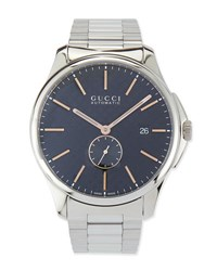 Gucci G Timeless Large Stainless Steel Automatic Watch