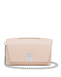 Leather Chain Strap Flap Bag Cordage Akris