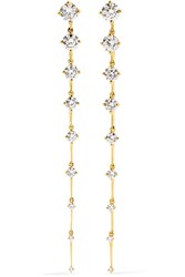 Fernando Jorge Sequence 18 Karat Gold Diamond Earrings One Size Gbp