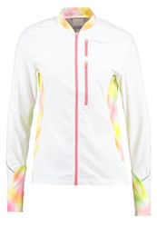 Craft Breakaway Sports Jacket White Faded Multicolor Multicoloured